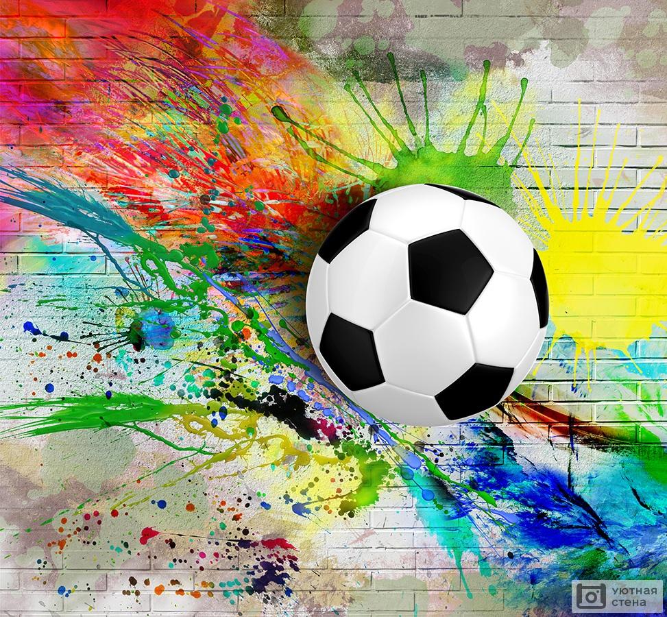 цветные картинки футбол город неве