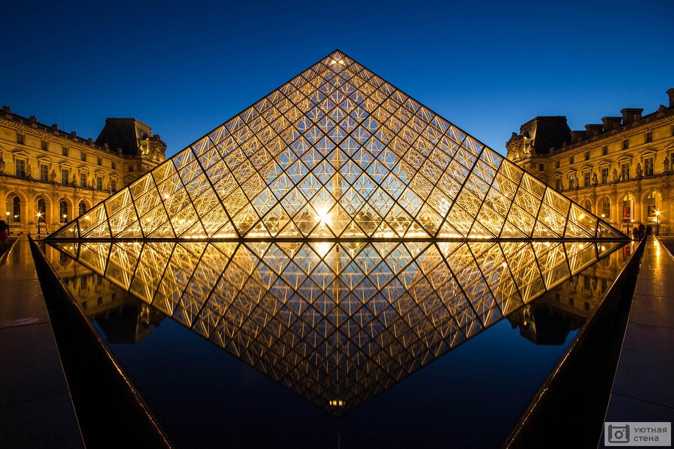 фото с пирамидой лувра ситуации, которые требуют