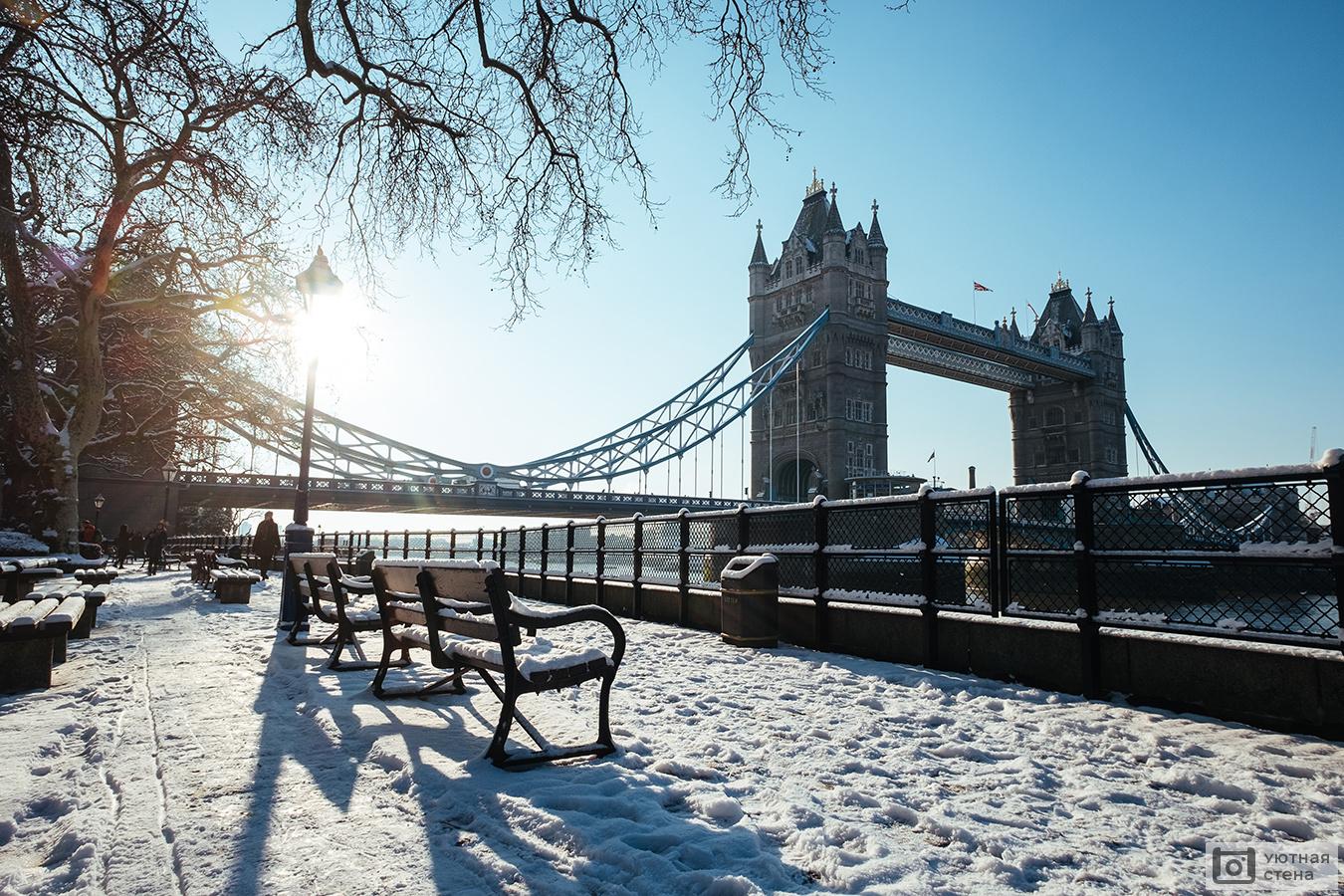 Зима англия картинки