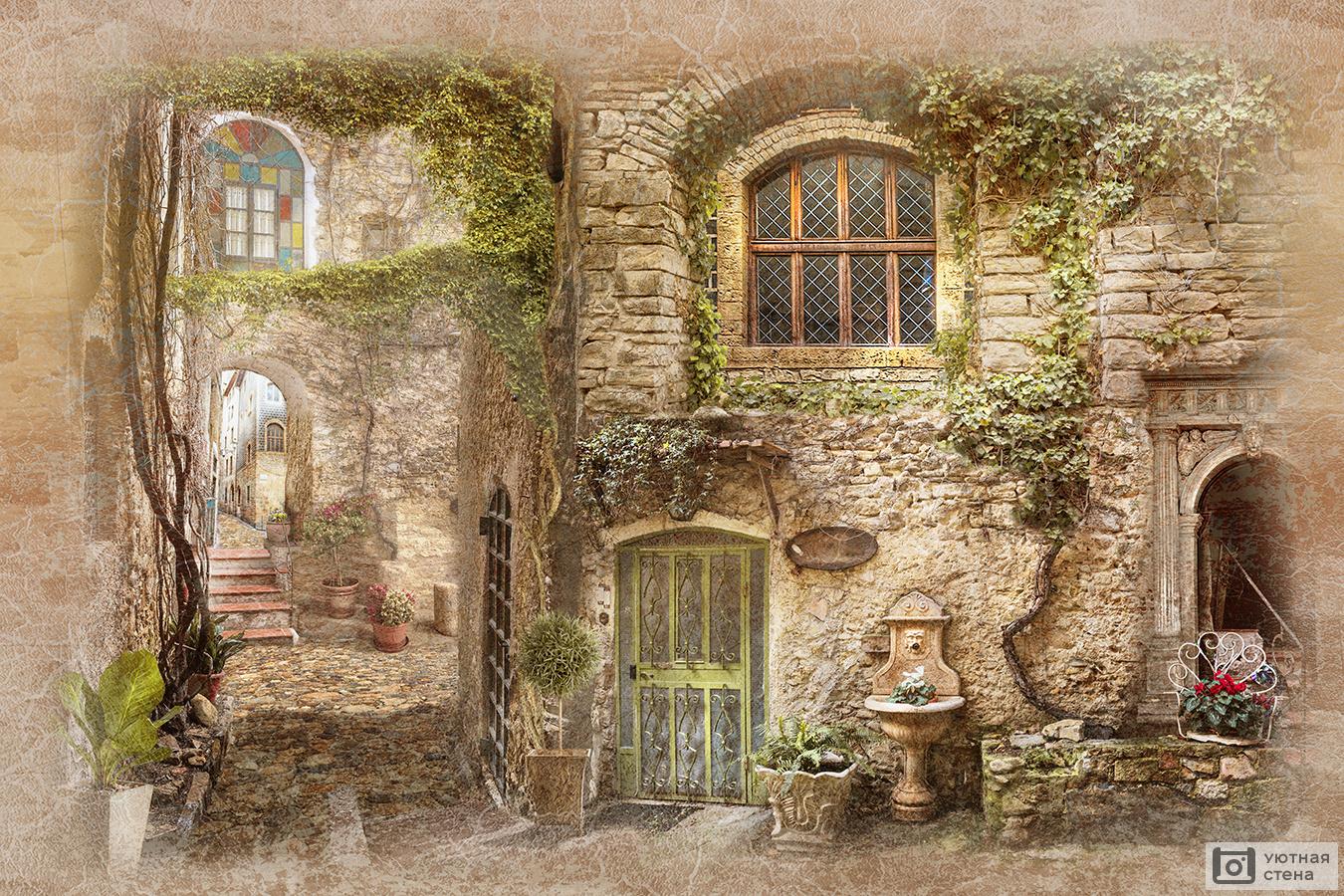 местоположение картинки старые улочки и дворики красивая
