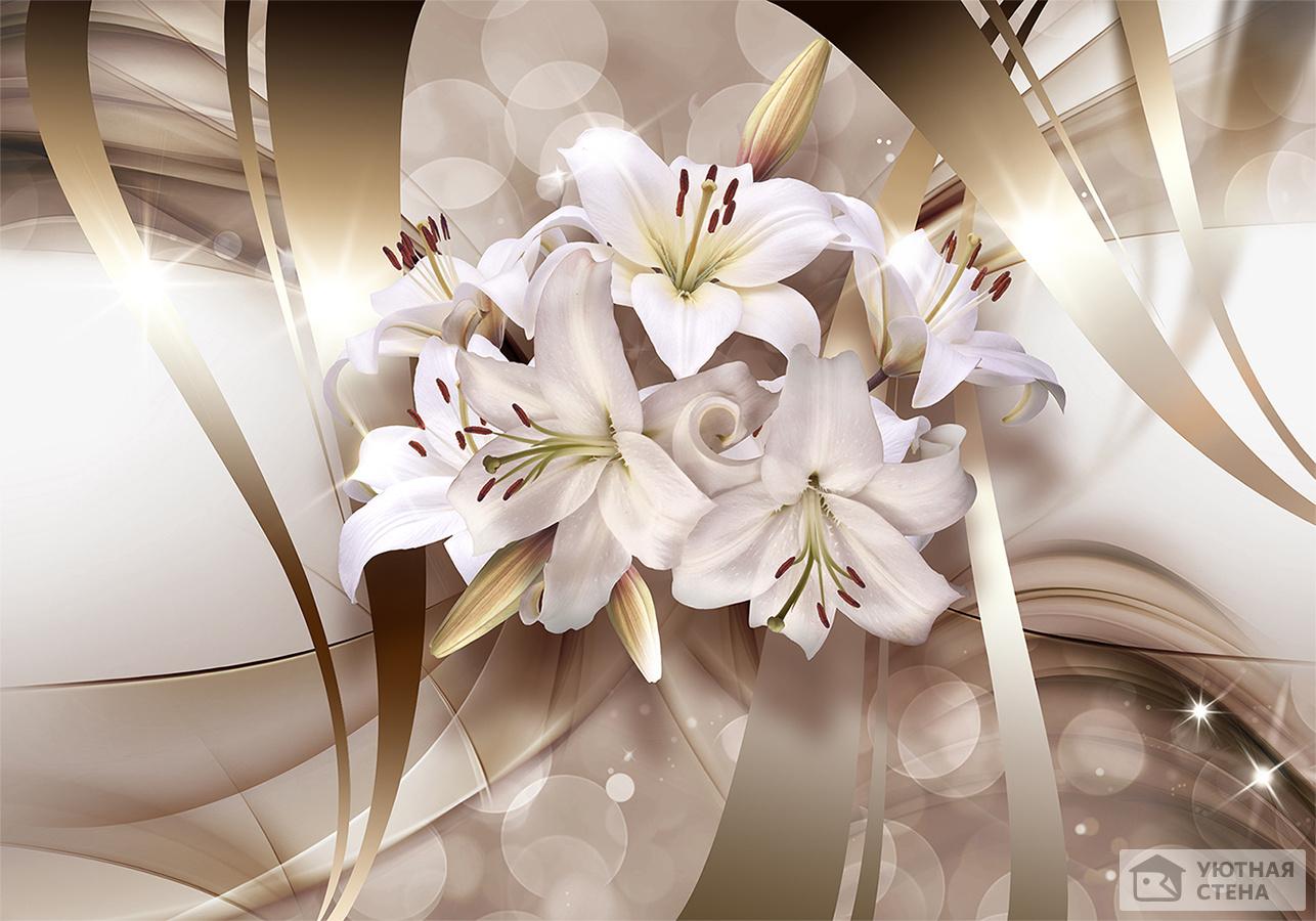 бамперов фото фон с лилиями простое время, котором
